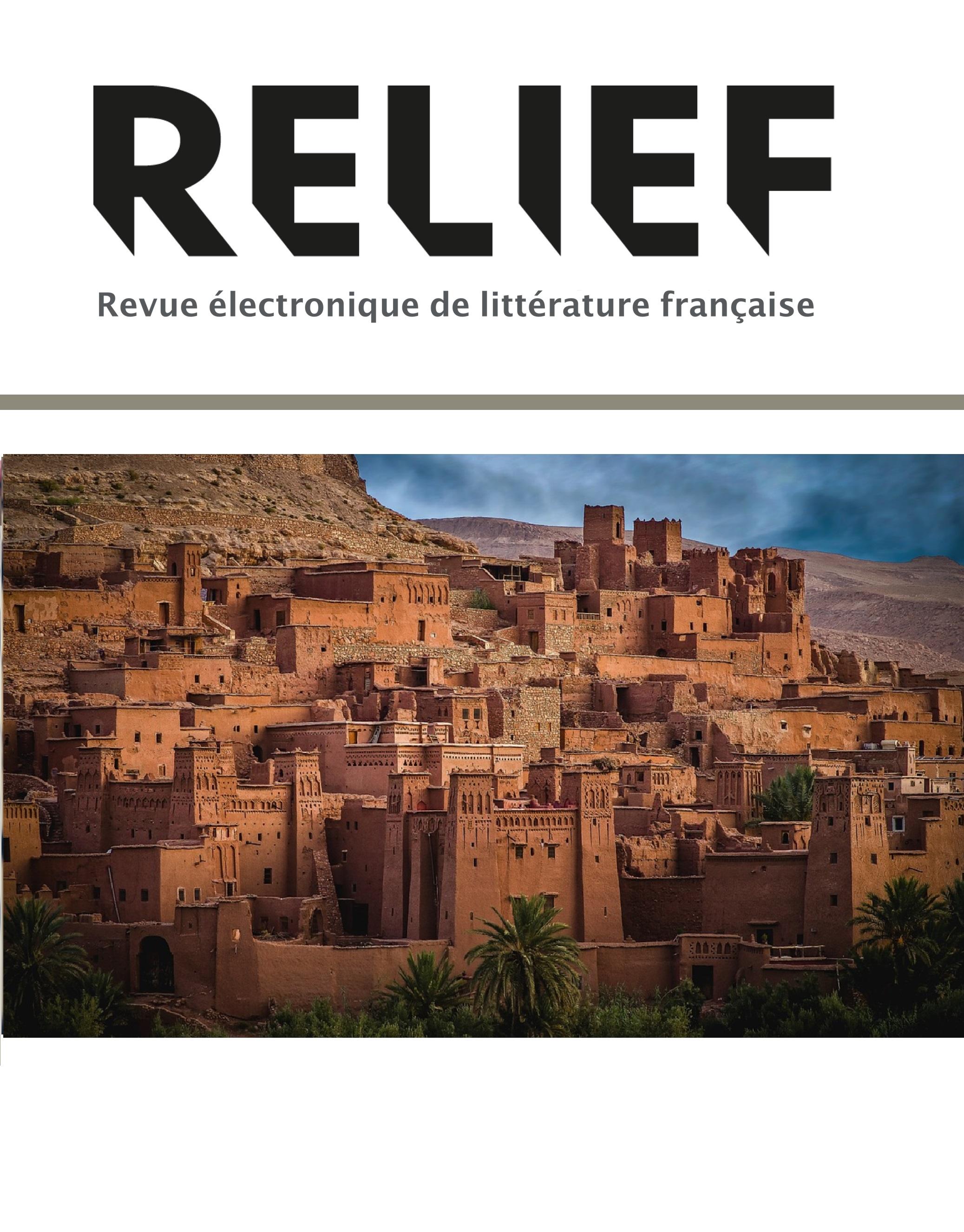 Afficher Vol. 14 No. 1 (2020): Écritures francophones du Maroc contemporain
